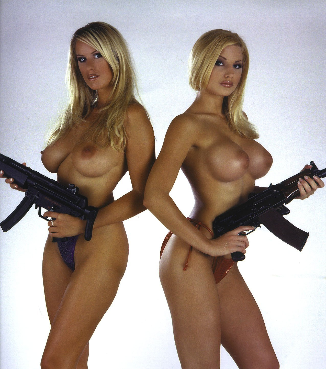 Girl gun naked with Best of